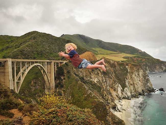 Two-year-old boy with Down syndrome takes flight through beautiful photo series