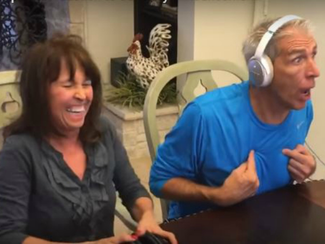 Dad Loses It When He Finds Out He's Going To Be a Grandpa (1)