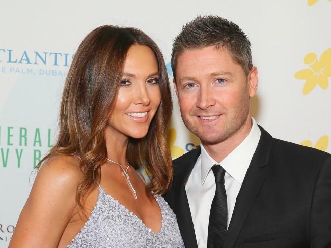 Michael Clarke Is Loving Fatherhood