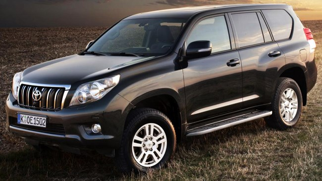 2011 Toyota Prado update revealed