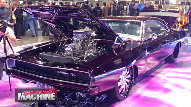 TERRY Mourched's 1968 Dodge Charger was one of the star debut cars at this year's Meguiar's MotorEx.
