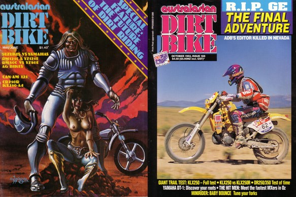 38 years of classic ADB covers