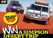 WIN a Simpson Desert trip in a new Land Cruiser 200 Series
