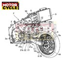 Patents show Kawasaki is keen on centre-hub steering