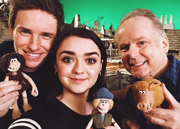 maisie williams new role animation