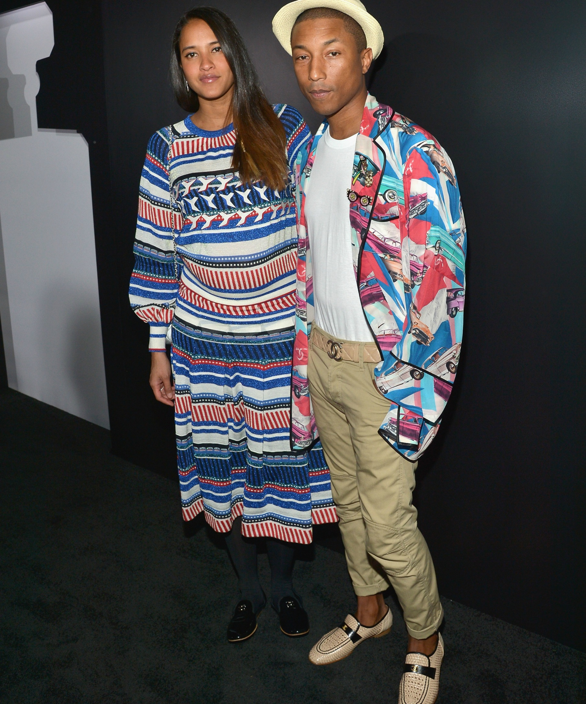 Pharrell Williams and wife Helen Lasichanh have had triplets!