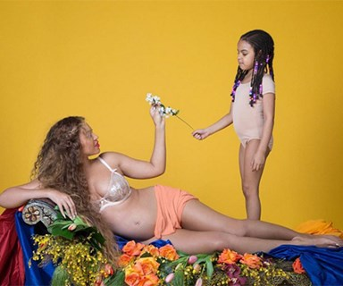Beyoncé just dropped a whole heap of pics from her pregnancy photo shoot