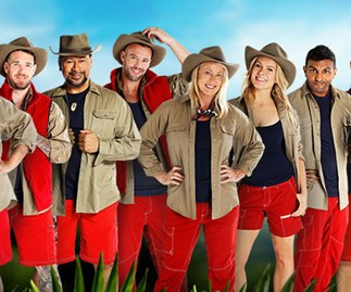The cast of I'm a celebrity... Get me out of here!