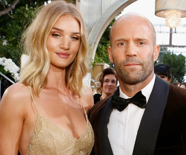 Congratulations! Rosie Huntington-Whiteley and Jason Statham are expecting their first child