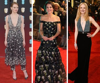 Duchess Catherine is the Queen of the BAFTAs red carpet