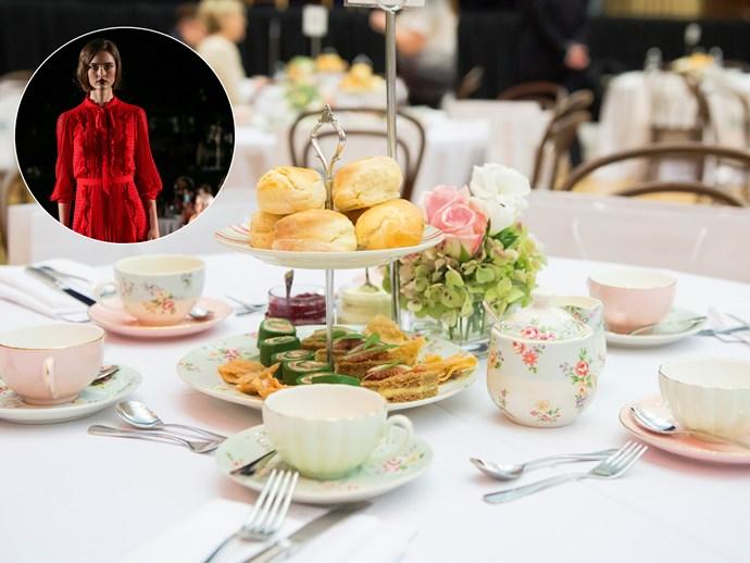 Melbourne Fashion Show High Tea