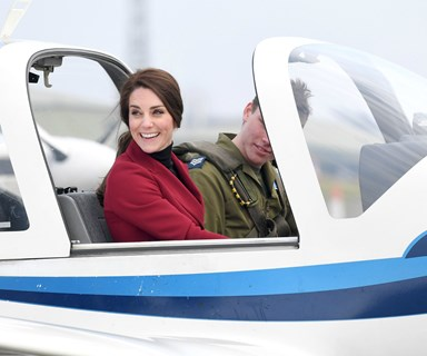 Duchess Kate hits the RAF for Valentine's Day