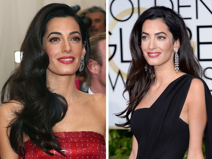 Amal Clooney beauty secrets