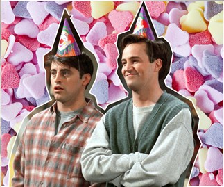 Joey and Chandler from Friends have the ultimate bromance.