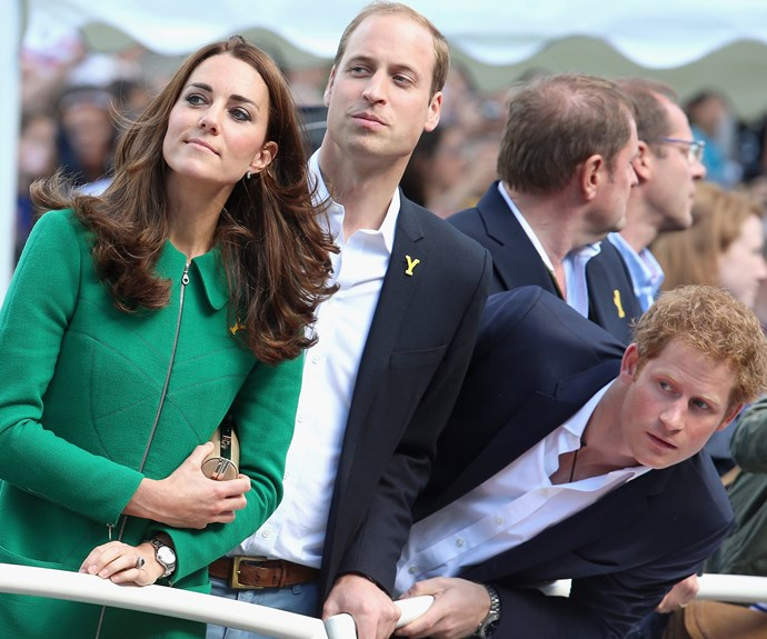 Duchess Catherine wore a geometric green coat to watch the launch of the 2014 Tour de France in Yorkshire.