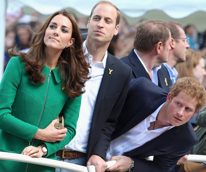 Prince William, Kate and Prince Harry