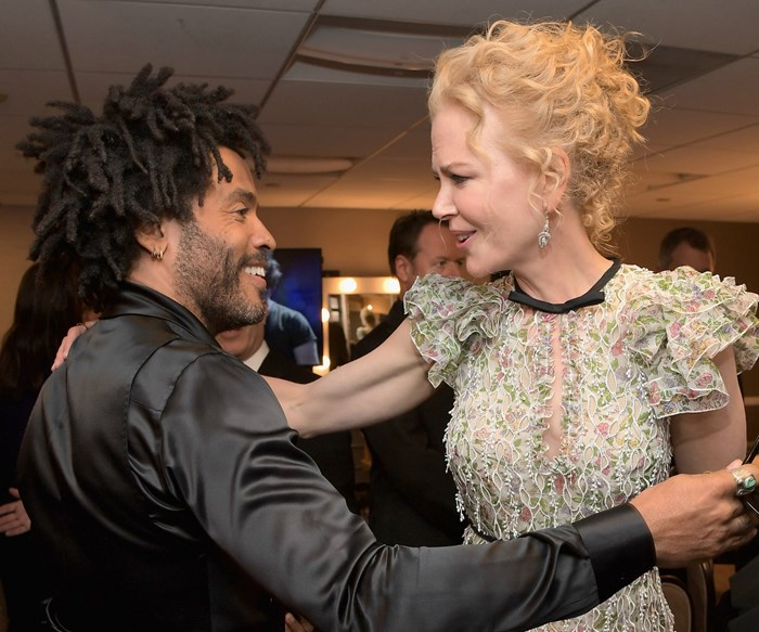 Plot twist: Nicole Kidman reveals she was once engaged to Lenny Kravitz