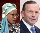 Tony Abbott slams activist Yassmin Abdel-Magied