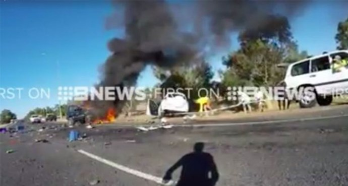 Woman killed as erratic driver swerves into oncoming traffic in WA
