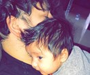 Rob Kardashian cuddles up to daughter Dream amid split rumours