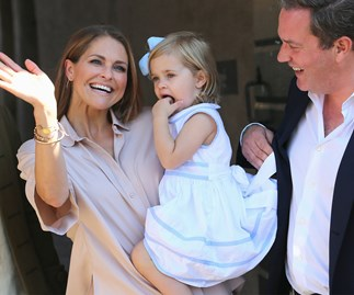 Princess Leonore, Princess Madeleine and Chris O'Neill