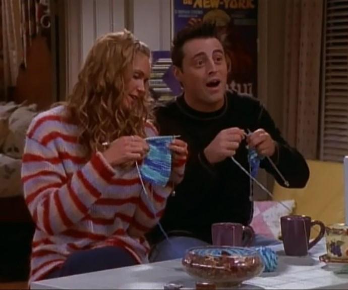 joey elle macpherson knitting friends
