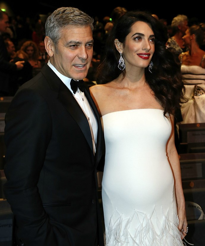 We bet Amal would have been so proud of her leading man.