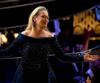 "Jimmy Kimmel gives the ""highly overrated"" Meryl Streep a ""thoroughly undeserved round of applause"""