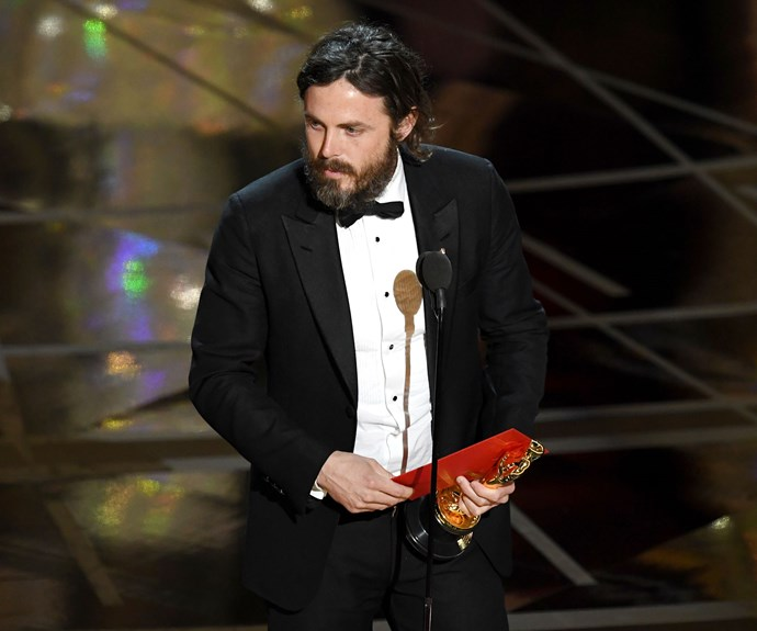 Casey Affleck wins Best Actor at the 2017 Oscars