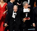 """This is not a joke!"" La La Land is accidentally named Best Film over Moonlight in epic Oscars bungle"