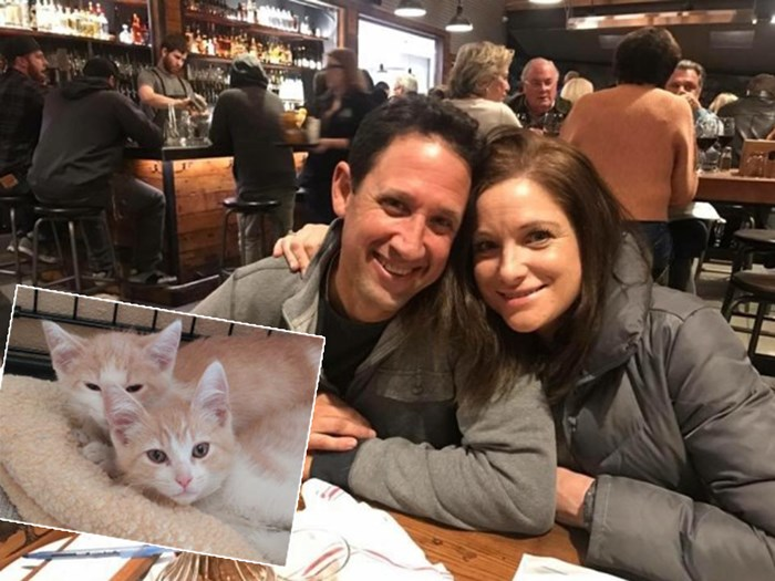 Cathleen Cavin and Brian Herrera