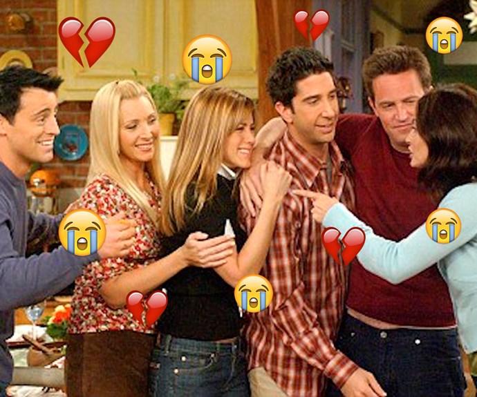 Friends, Joey Tribianni, Phoebe Buffay, Rachel Green, Ross Geller, Chandler Bing, Monica Geller