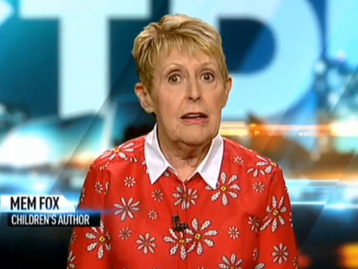 "Author Mem Fox was detained by ""belligerent and violent"" US border security"