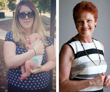 "Greiving mother whose baby died from whooping cough slams Pauline Hanson's ""uneducated"" comments"