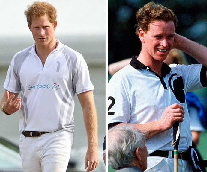 Prince Harry and James Hewitt