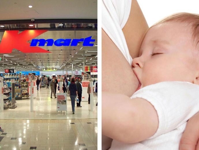 Cairns Kmart store faces 'flash mob' protest over breastfeeding discrimination