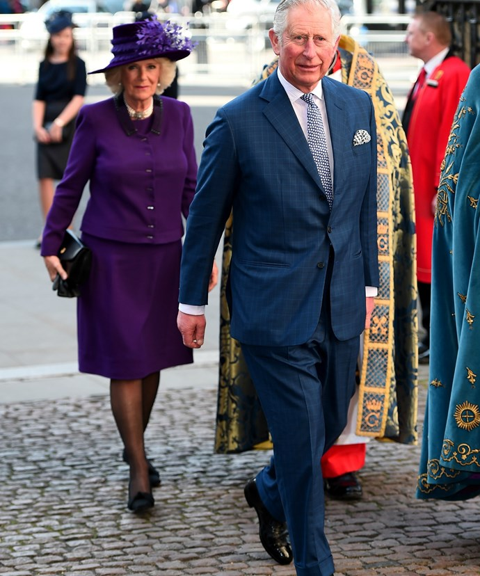 Prince Charles and wife Camilla were in attendance.
