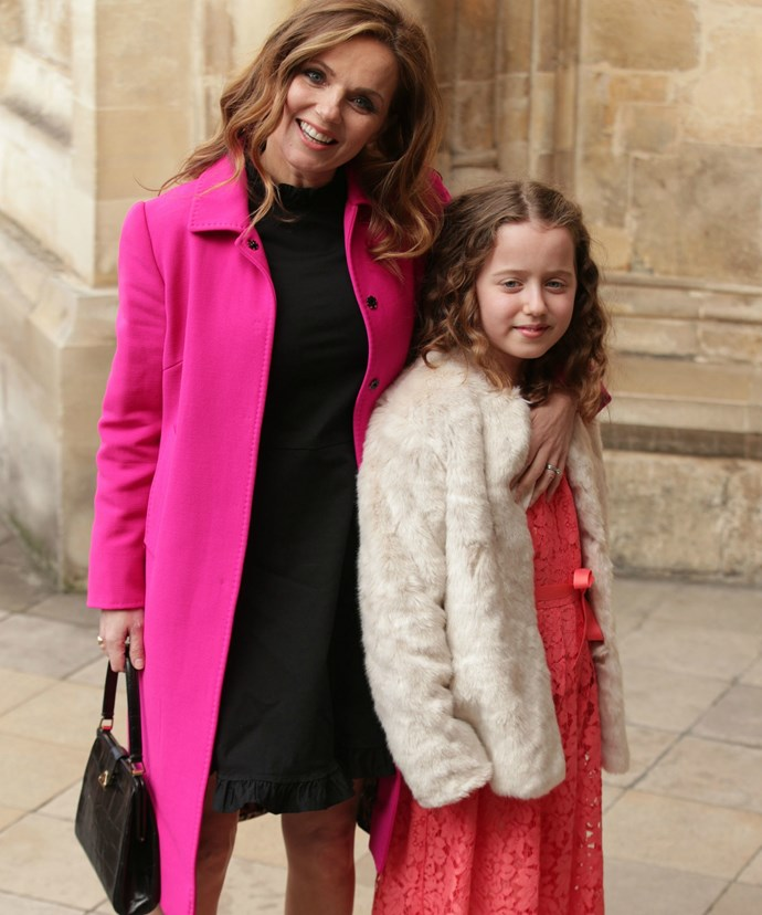 At just 10, little Bluebell is the spitting image of her former pop star mum.