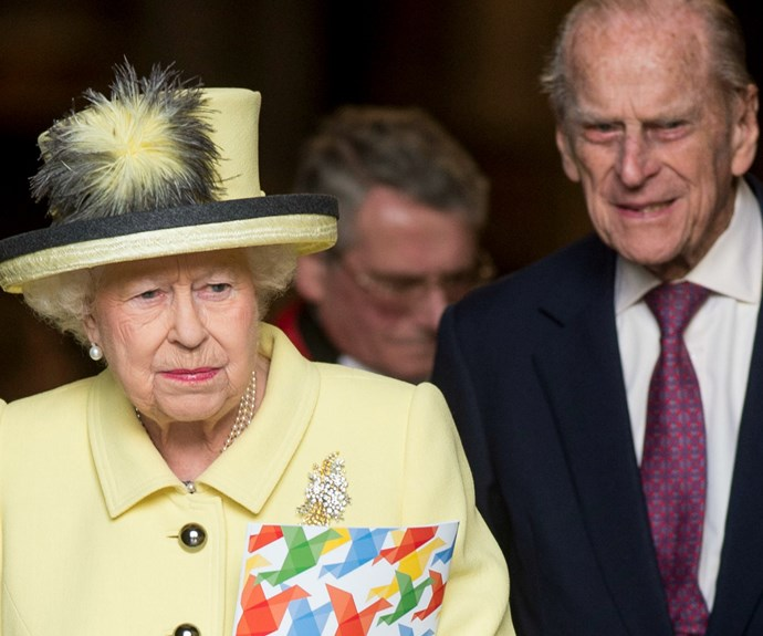 Prince Philip accompanied his wife at the event.