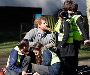 Prince Harry's latest outing with kids will give you all the feels