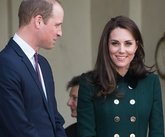 The Duke and Duchess of Cambridge touch down in Paris