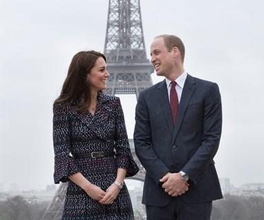 Prince William and Duchess Catherine's Parisian adventure