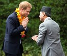 Prince Harry celebrates his friendship with this very special country
