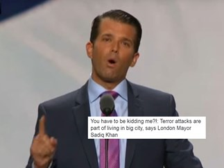 Donald Trump Jr's tweet about the London terror attacks will leave you gobsmacked