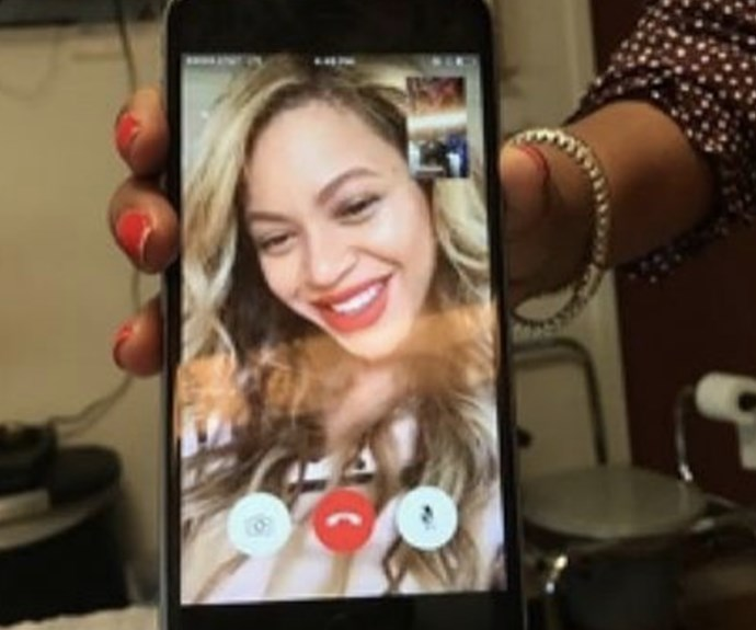 Beyoncé, FaceTime, Ebony Banks