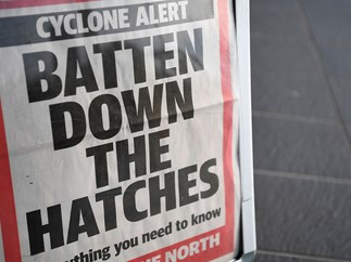 Updated: Tourist dies in Cyclone Debbie storm zone