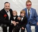 Elton John's tiny dancers help him ring in 70