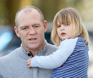 Mia Tindall continues to gallop into our heart during a royal family outing