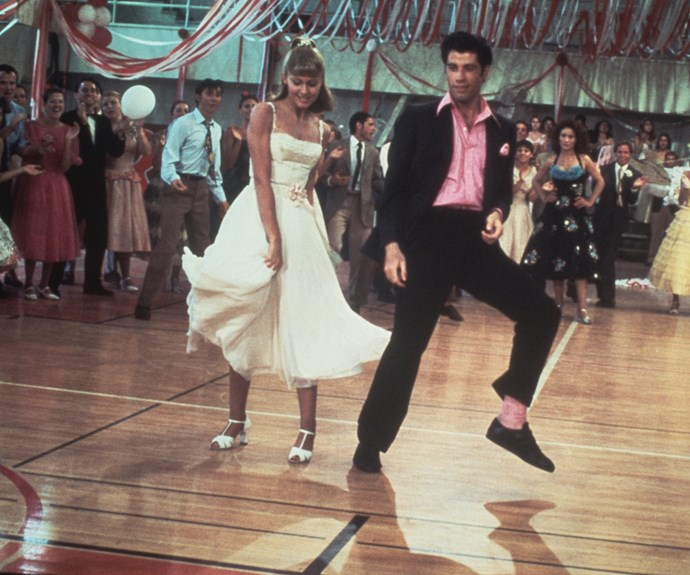 ONJ and John Travolta have been firm friends since starring together on *Grease* in 1978.