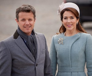 A step back in time: Princess Mary gives us sixties chic during Belgium royals' state visit